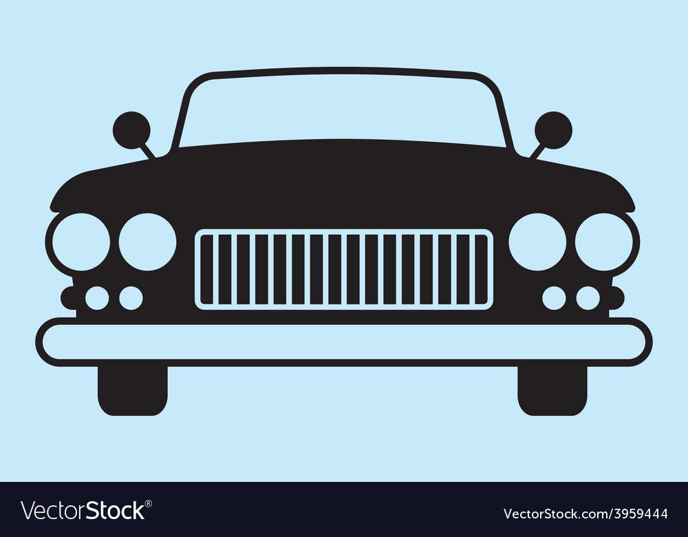 Car silhouette vector | Price: 1 Credit (USD $1)