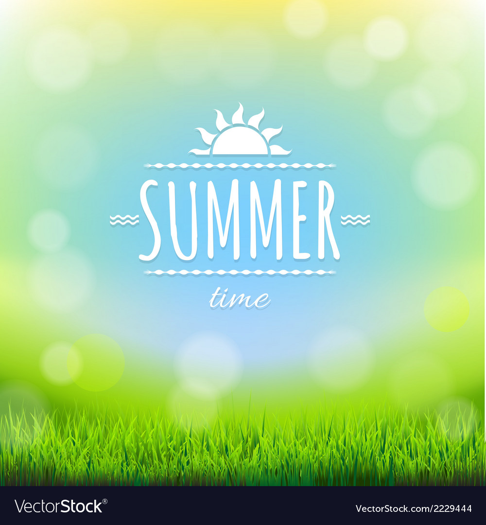 Summer discount banner vector | Price: 1 Credit (USD $1)