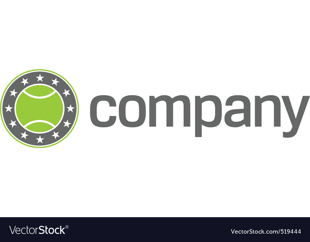 Tennis sport logo vector | Price: 1 Credit (USD $1)