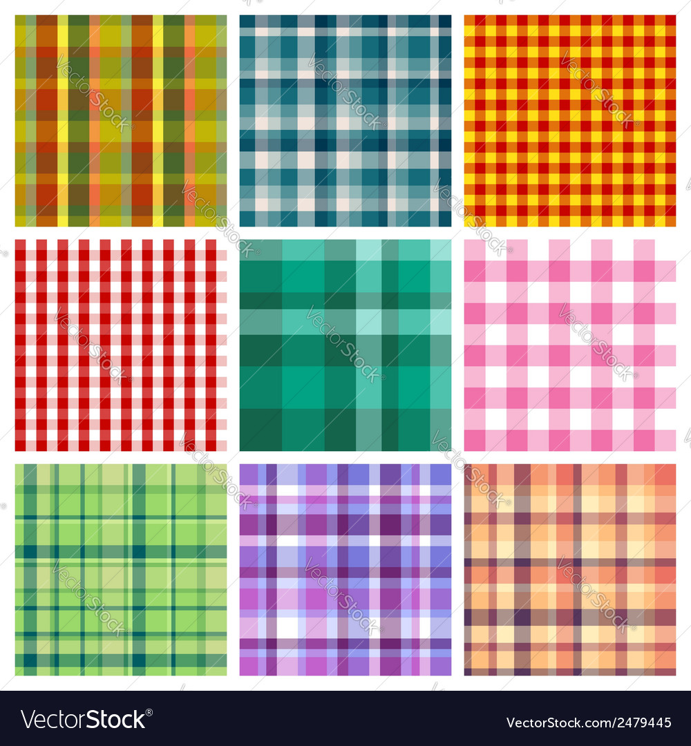 Checkered print vector | Price: 1 Credit (USD $1)