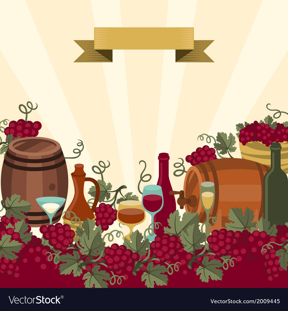 For wine wineries and restaurants vector | Price: 1 Credit (USD $1)