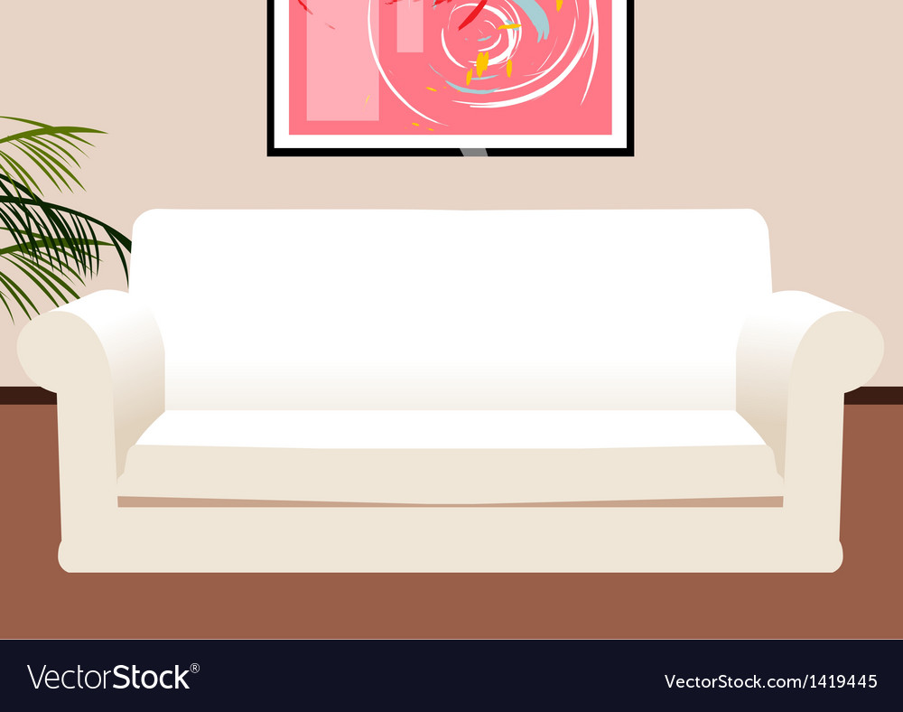 Lounge coach background vector | Price: 1 Credit (USD $1)
