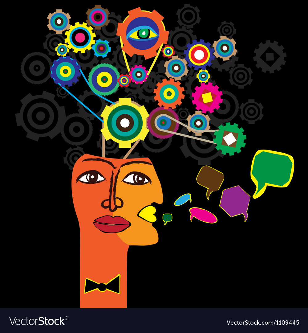 The thought process vector   Price: 1 Credit (USD $1)