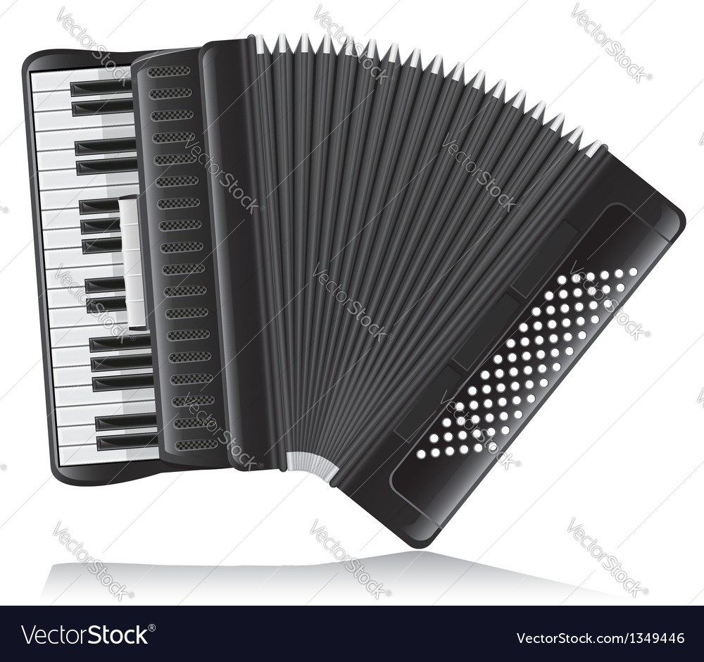 Accordion 02 vector | Price: 3 Credit (USD $3)