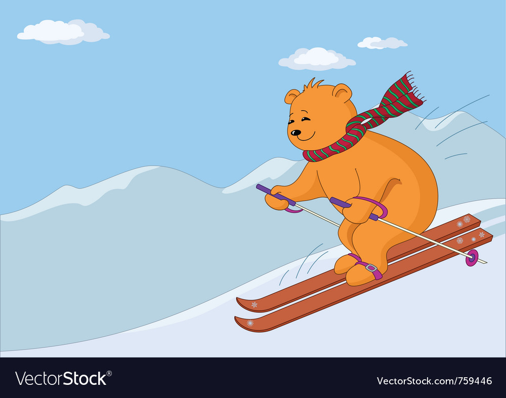 Teddy-bear skies vector   Price: 3 Credit (USD $3)