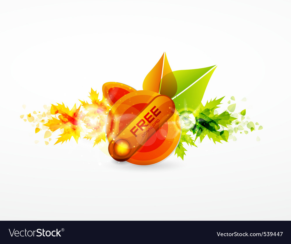 Autumn spring vector | Price: 1 Credit (USD $1)