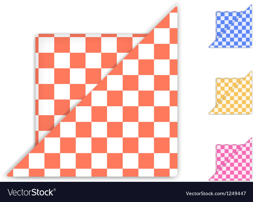 Checkered napkin vector | Price: 1 Credit (USD $1)