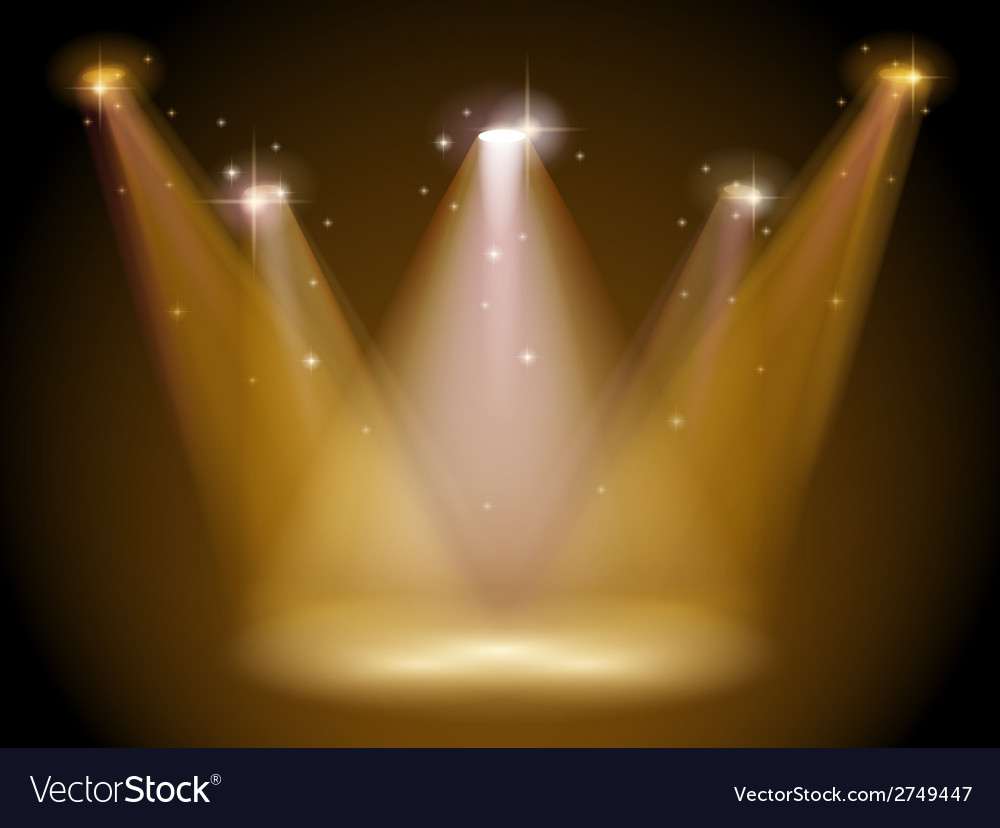 Light and stage vector | Price: 1 Credit (USD $1)