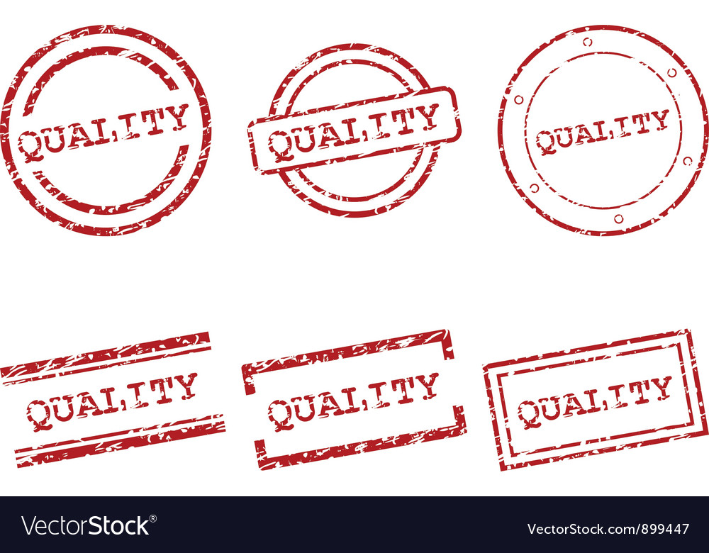 Quality stamps vector | Price: 1 Credit (USD $1)