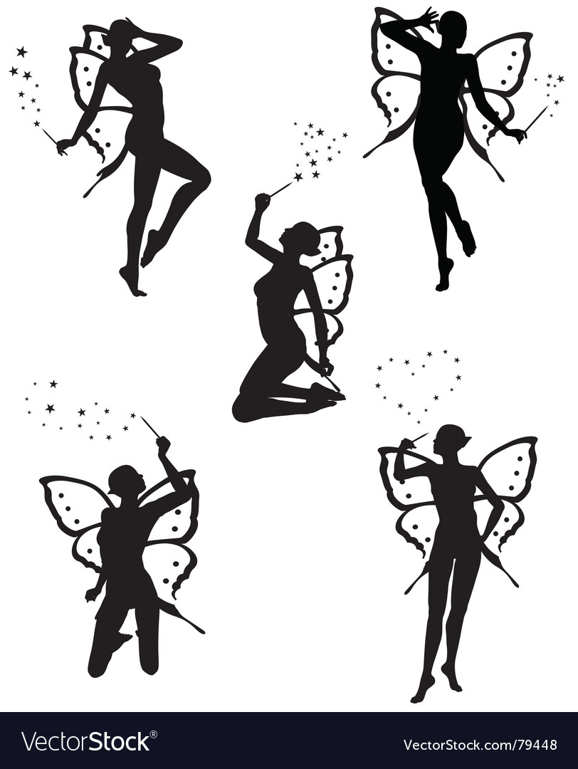 Little fairy vector | Price: 1 Credit (USD $1)