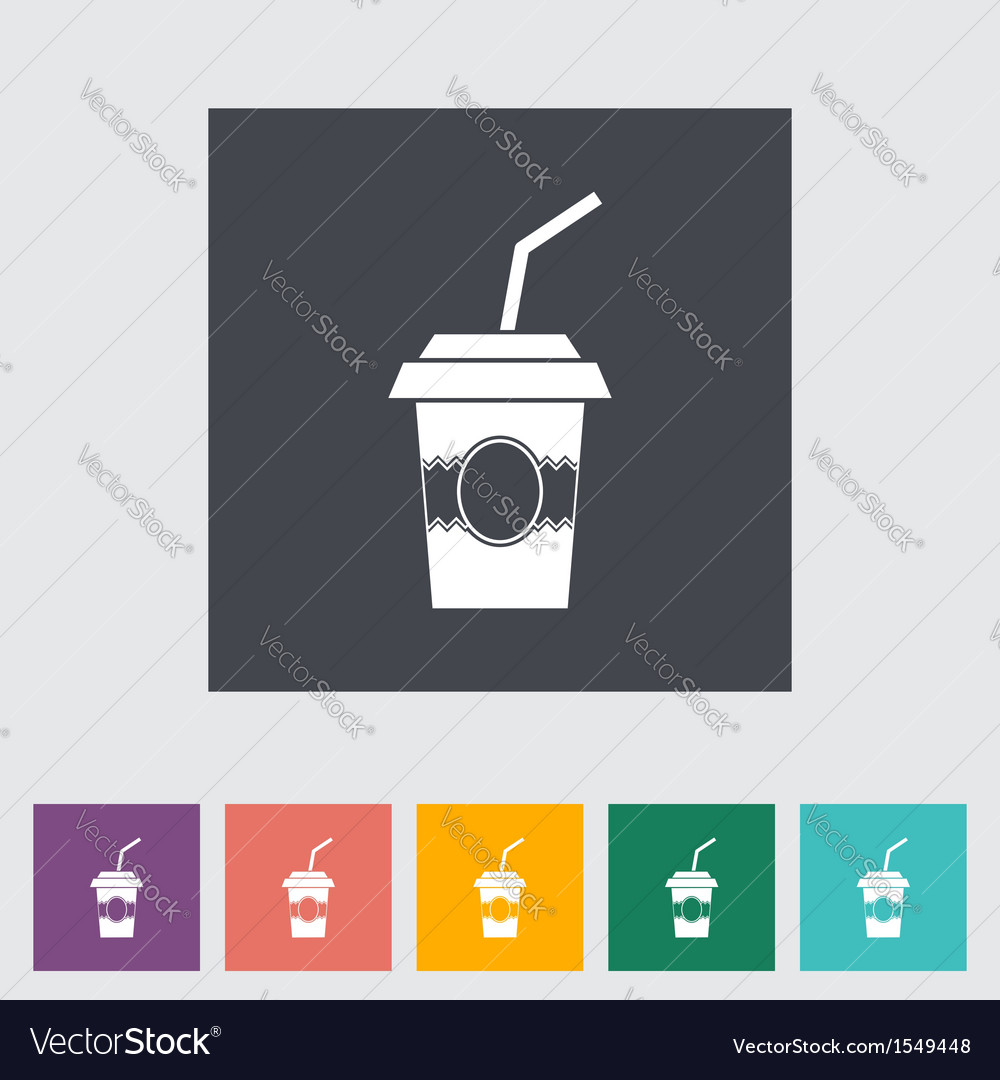 Paper fast food cup vector | Price: 1 Credit (USD $1)