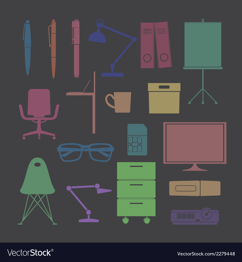 Silhouette flat icon color vector | Price: 1 Credit (USD $1)