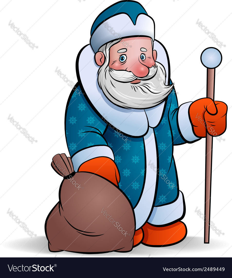 Ded moroz vector | Price: 1 Credit (USD $1)