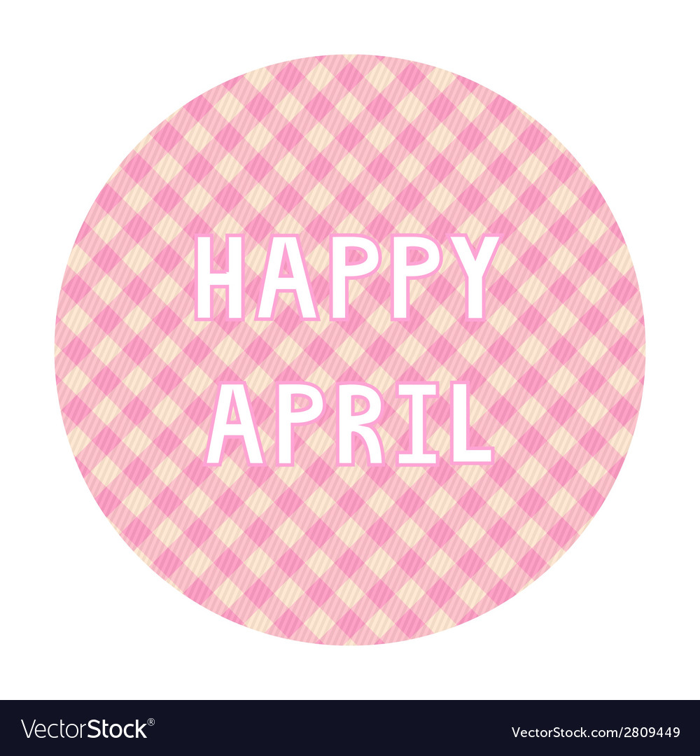 Happy april background4 vector | Price: 1 Credit (USD $1)