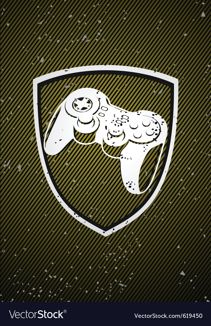 Game badge vector | Price: 1 Credit (USD $1)