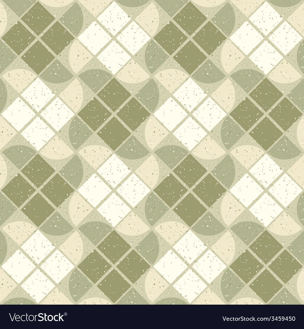 Vintage wavy decorative seamless pattern geometric vector | Price: 1 Credit (USD $1)