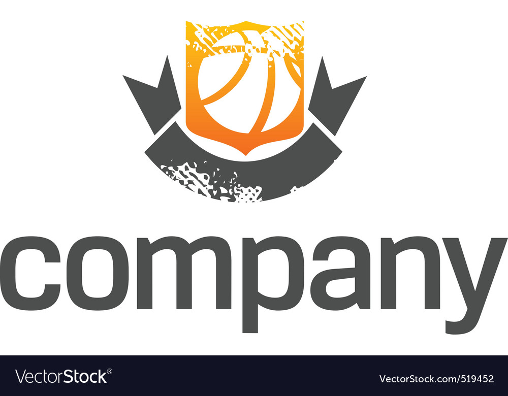 Basketball league logo vector | Price: 1 Credit (USD $1)