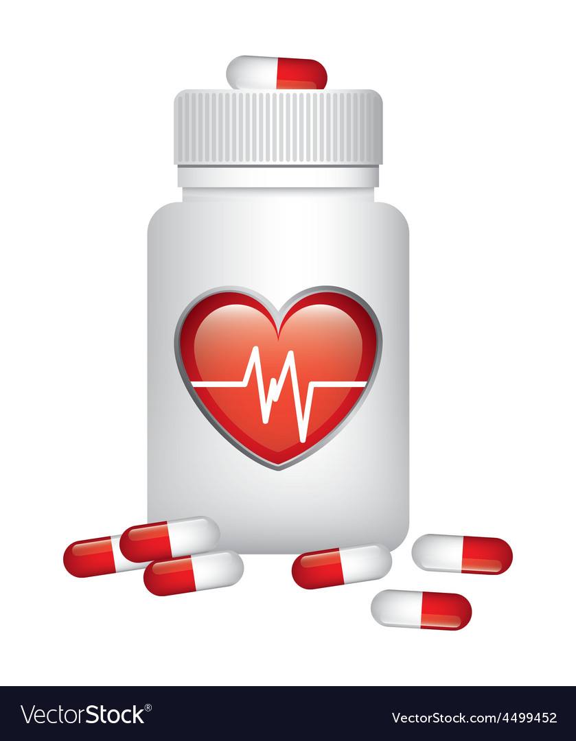 Cardiology drugs vector | Price: 1 Credit (USD $1)