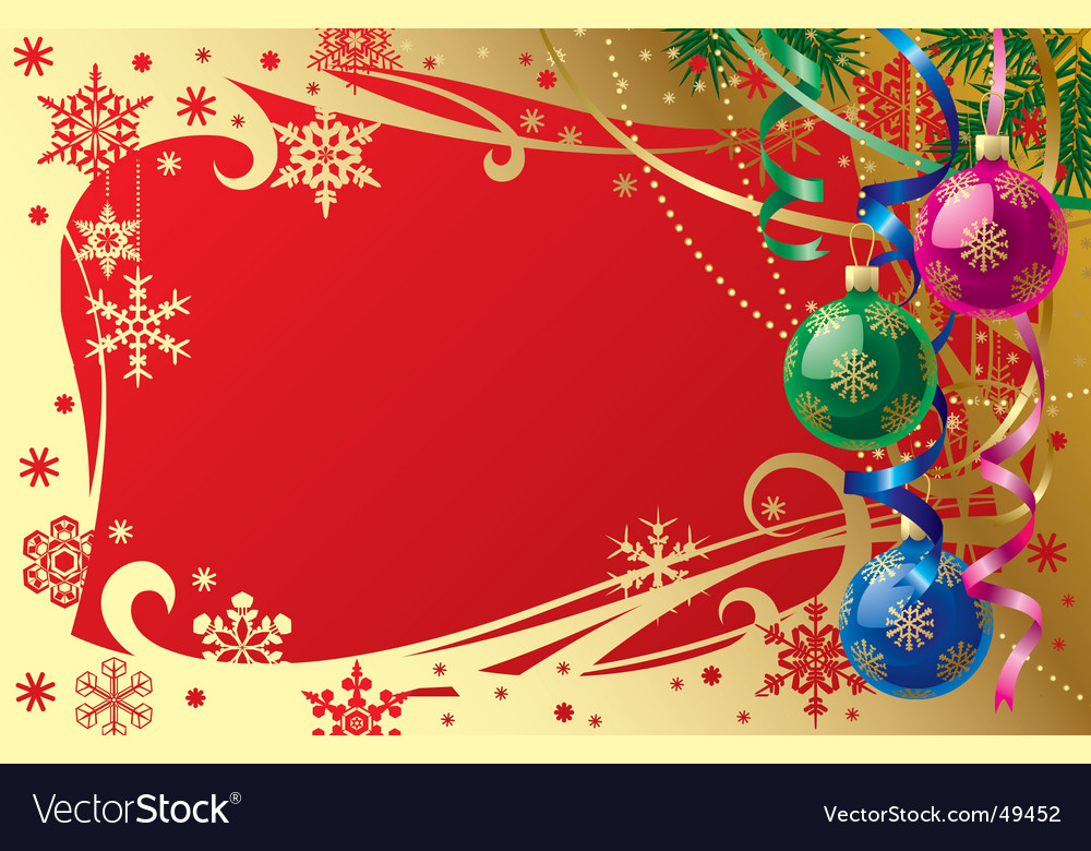Christmas & new-year's card vector | Price: 1 Credit (USD $1)