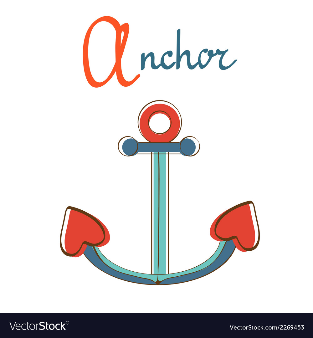 A is for anchor vector