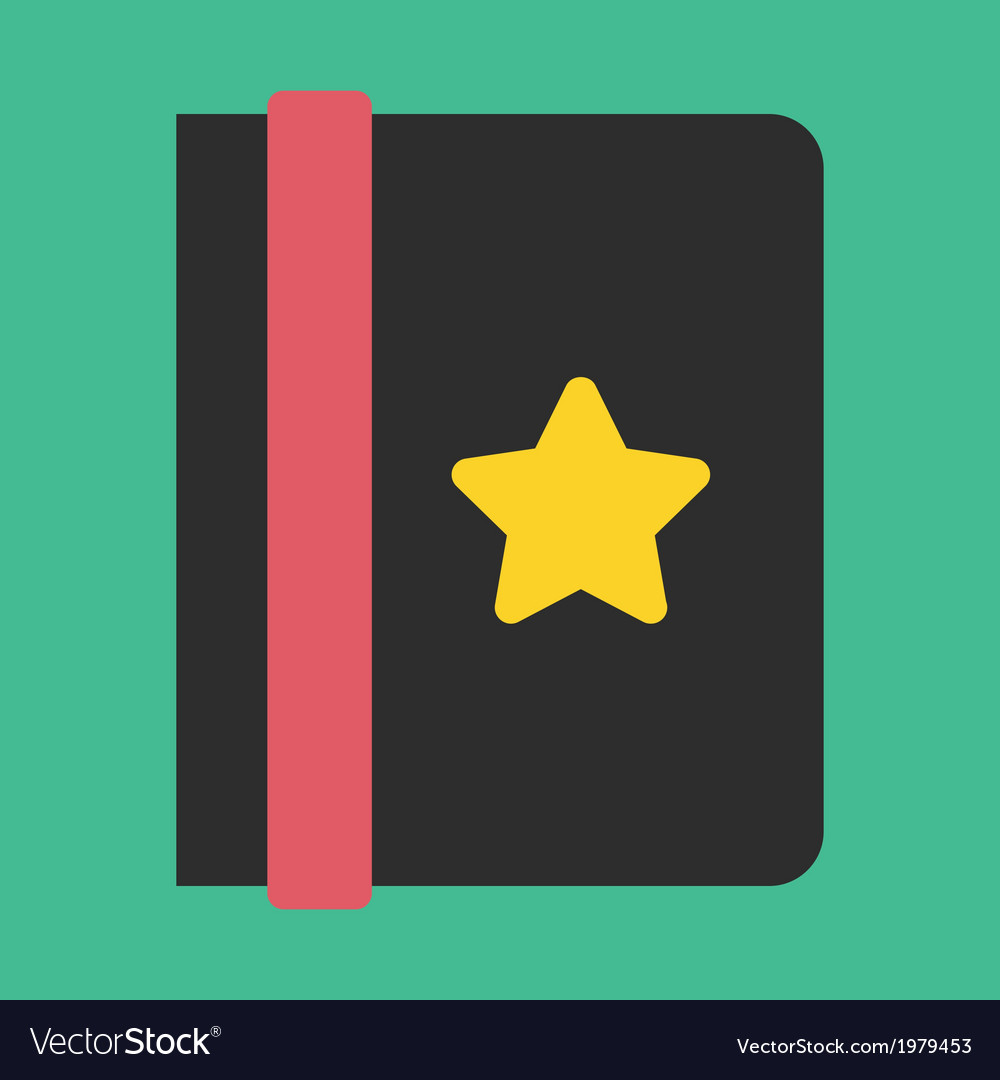 Address book icon vector   Price: 1 Credit (USD $1)