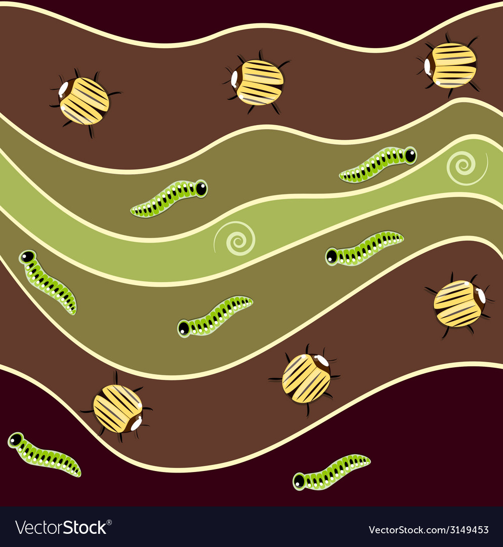 Bug pattern vector | Price: 1 Credit (USD $1)