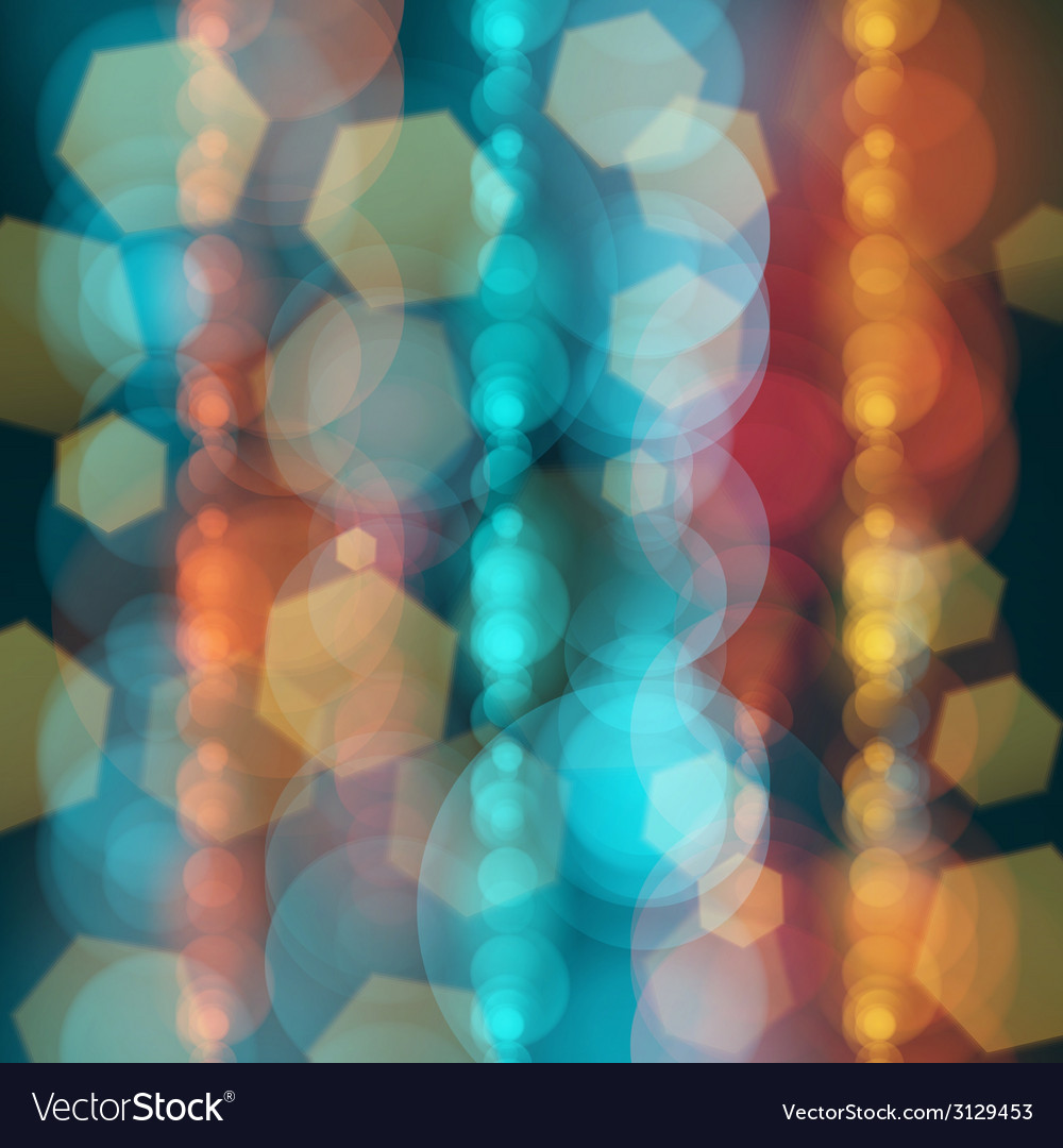 Christmas background with lights image vector | Price: 1 Credit (USD $1)