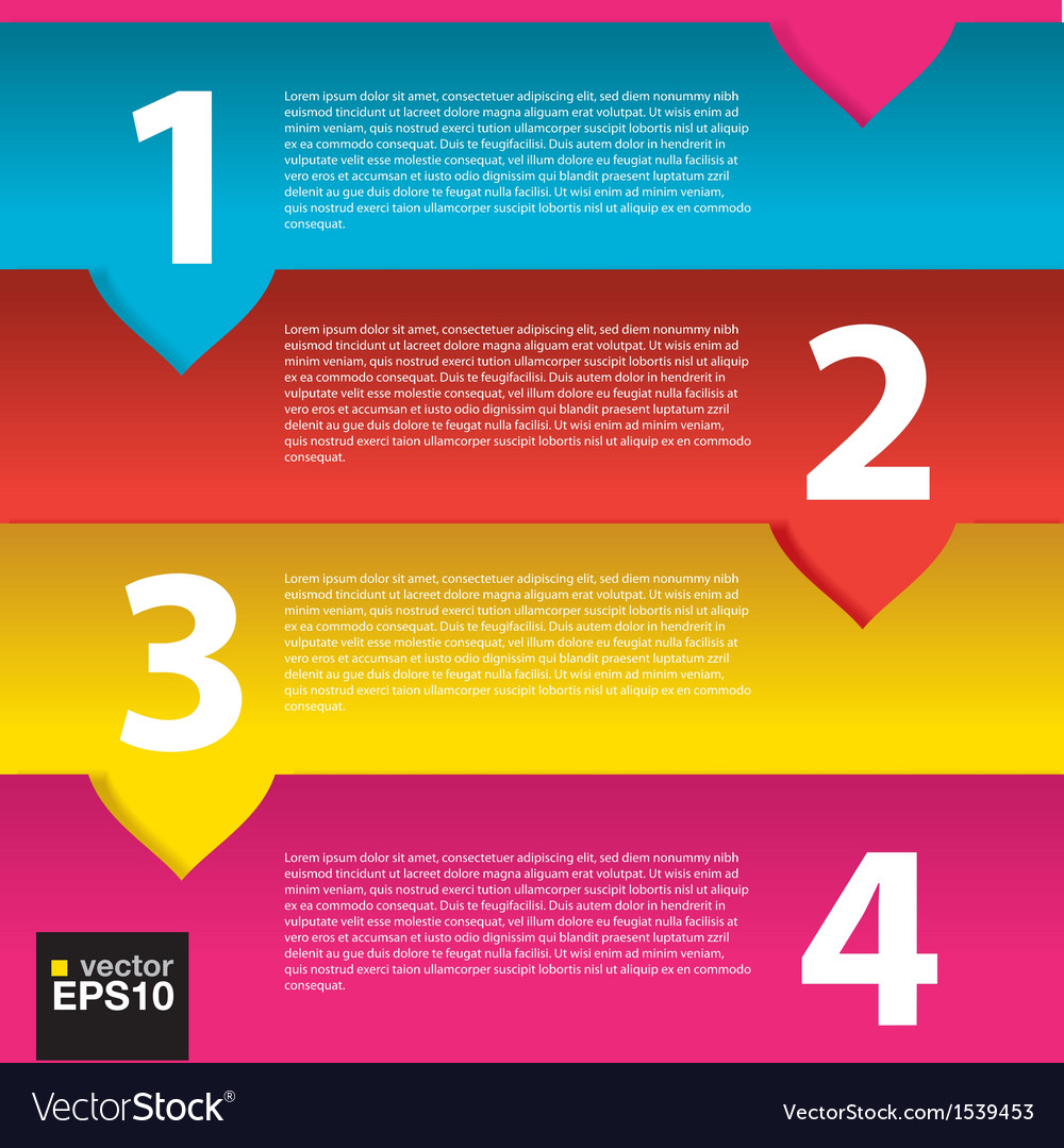 Colorful banner template eps10 vector | Price: 1 Credit (USD $1)