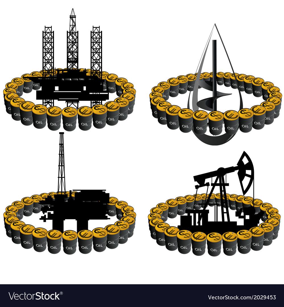 Petroleum business-4 vector | Price: 1 Credit (USD $1)