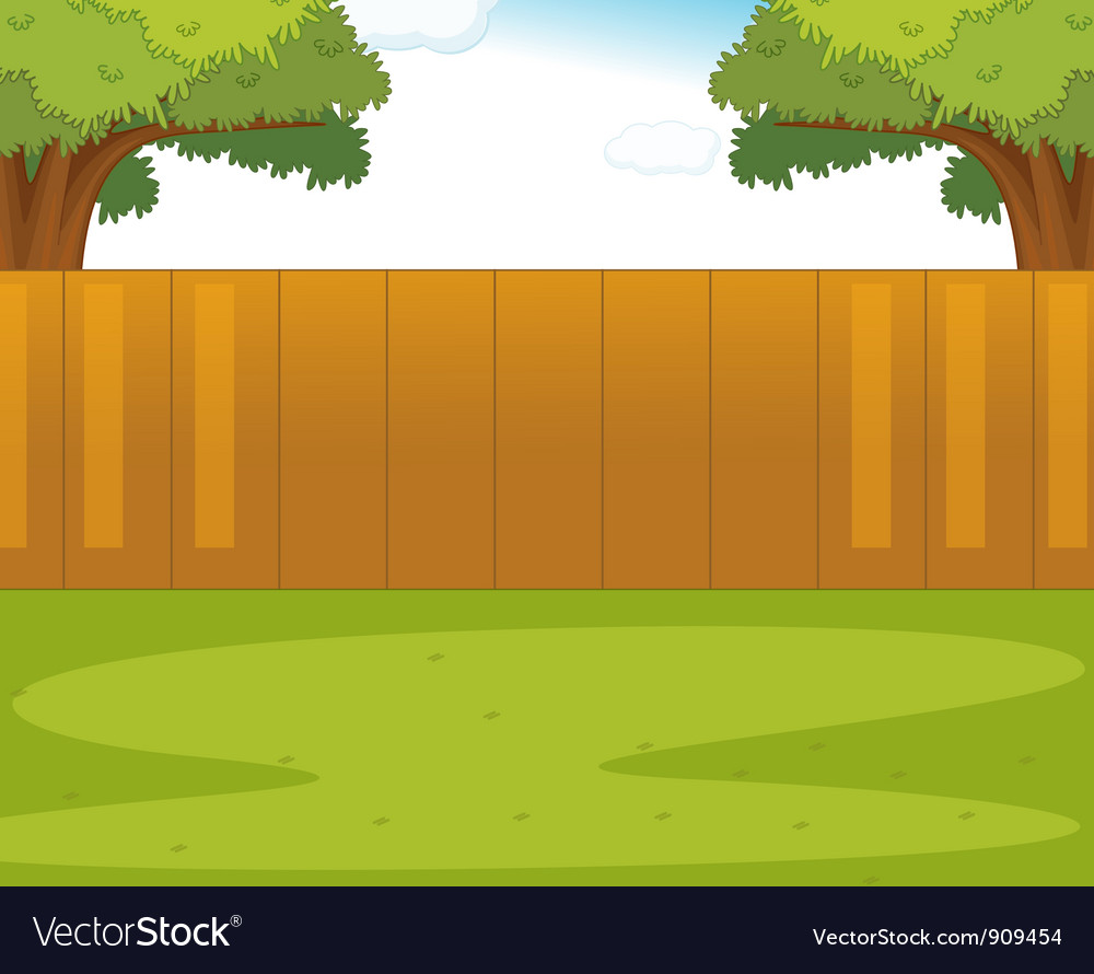 Back yard vector | Price: 3 Credit (USD $3)