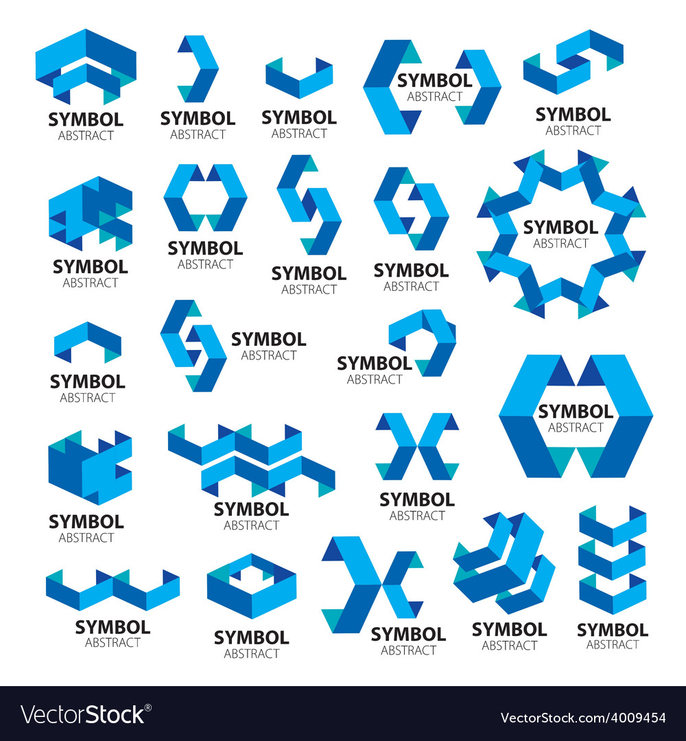 Biggest collection of logos of geometric modules vector | Price: 1 Credit (USD $1)