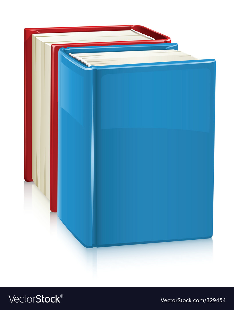 Books with hard cover vector   Price: 1 Credit (USD $1)