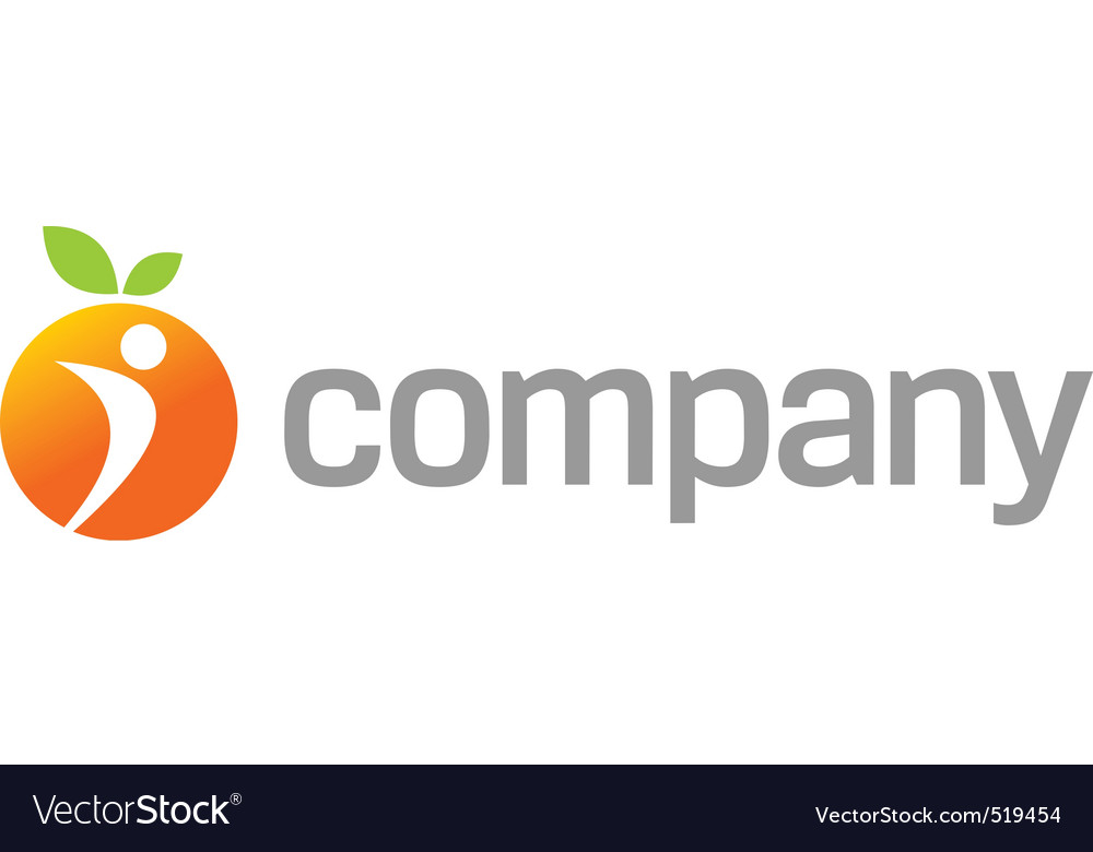 Orange energy logo for sport vector | Price: 1 Credit (USD $1)