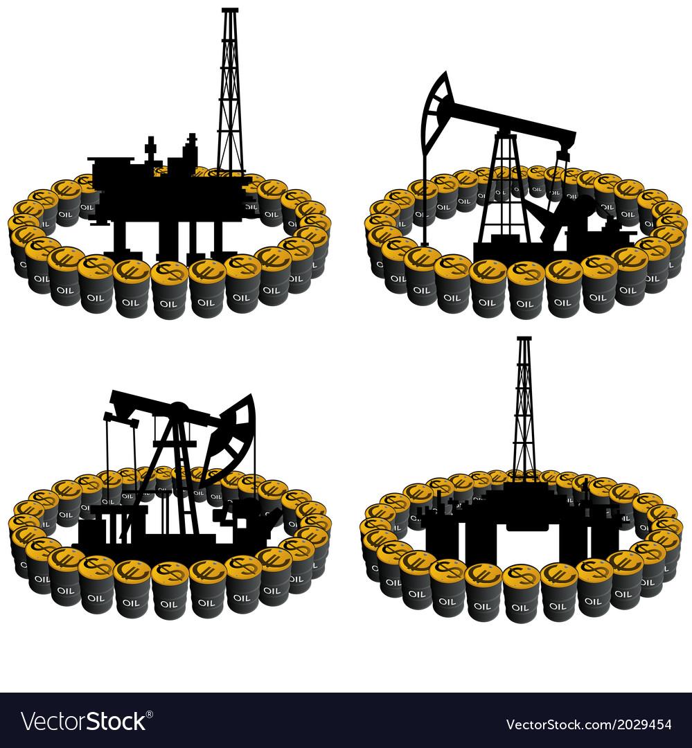 Petroleum business-5 vector | Price: 1 Credit (USD $1)