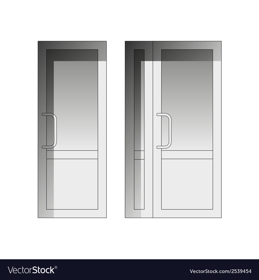 Set of doors vector | Price: 1 Credit (USD $1)