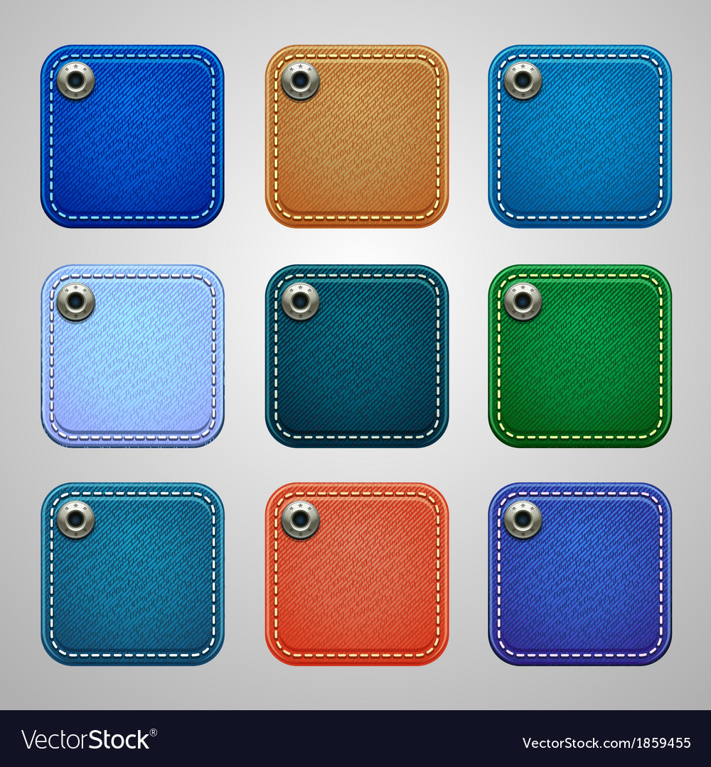 Background for the app icons-jeans part vector | Price: 1 Credit (USD $1)