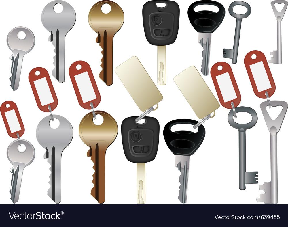 Keys vector | Price: 1 Credit (USD $1)