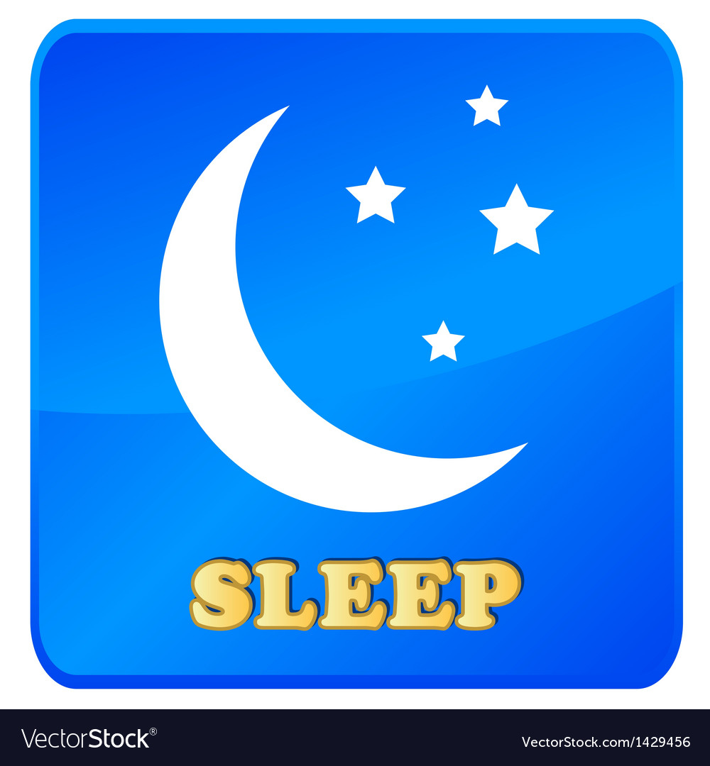 Sleep icon vector | Price: 1 Credit (USD $1)