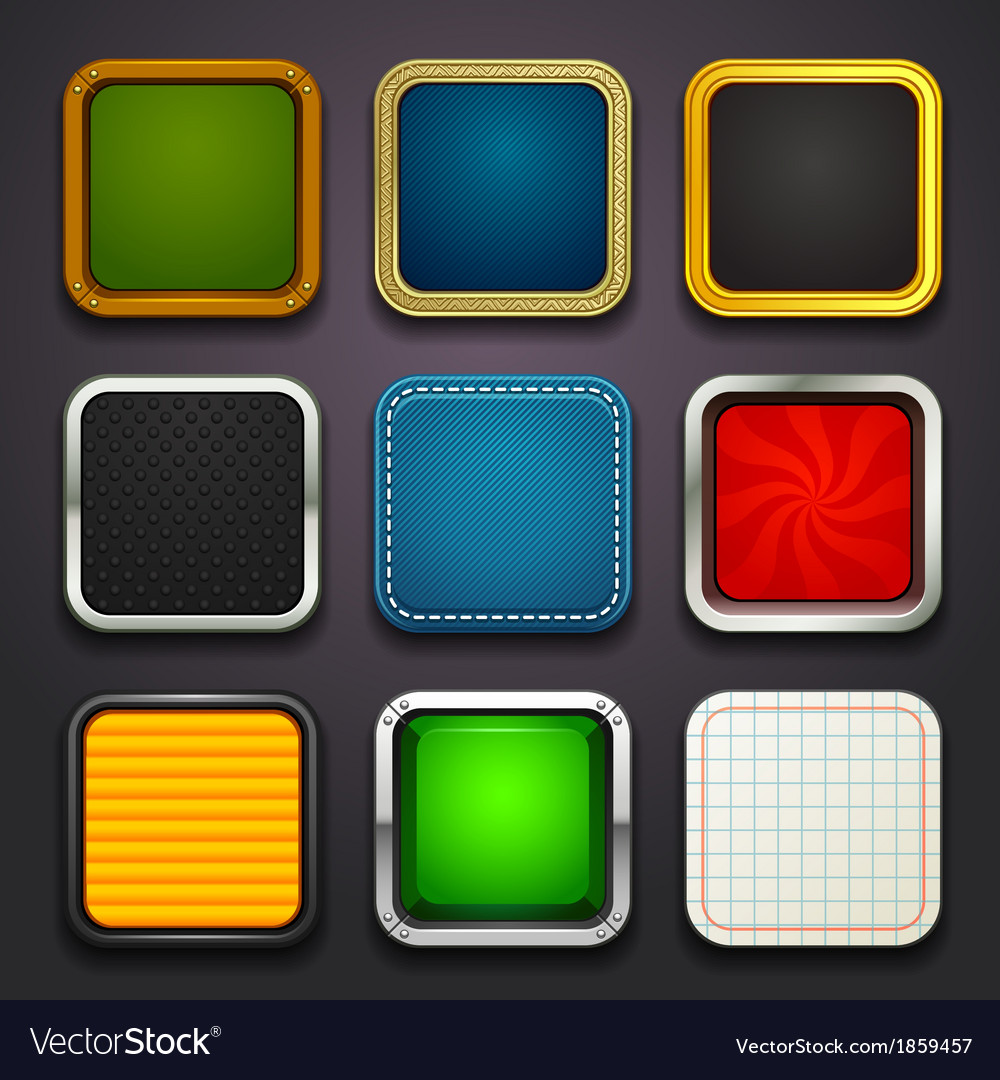 Background for the app icons-part 2 vector | Price: 1 Credit (USD $1)