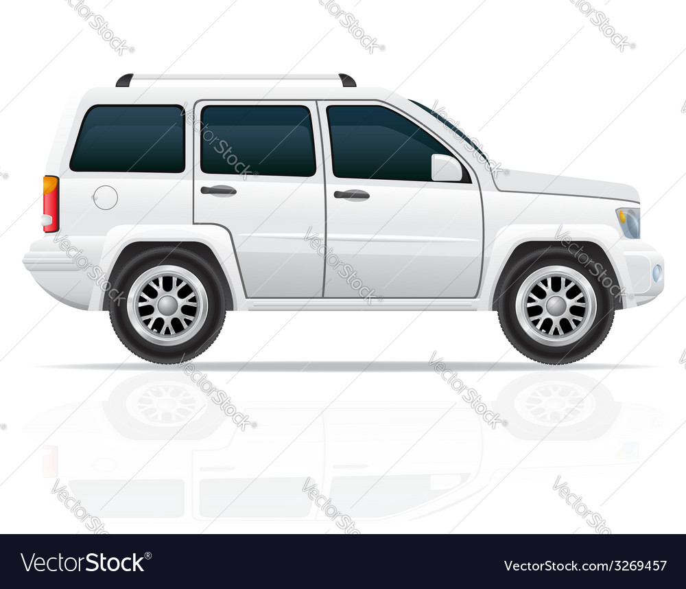 Car jeep off road suv 01 vector | Price: 3 Credit (USD $3)