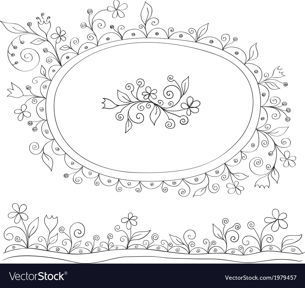 Doodle decor elements vector | Price: 1 Credit (USD $1)