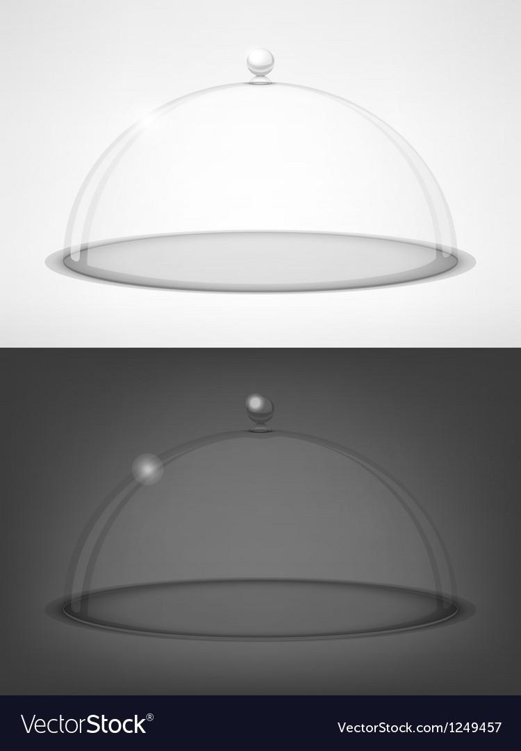 Glass transparent half-sphere vector | Price: 3 Credit (USD $3)