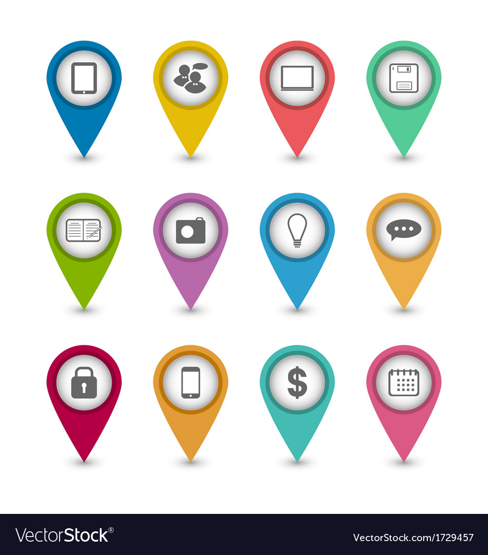 Group business pictogram icons for design your vector | Price: 1 Credit (USD $1)