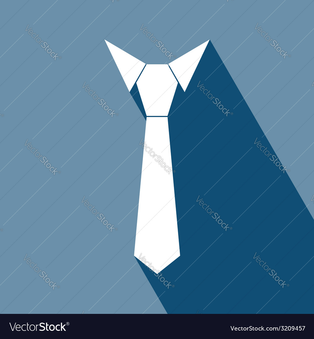 Necktie icon vector | Price: 1 Credit (USD $1)