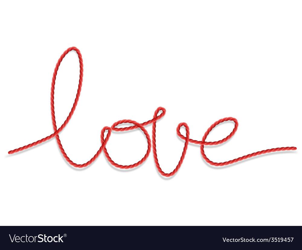 Shape word - love eps 10 vector   Price: 1 Credit (USD $1)