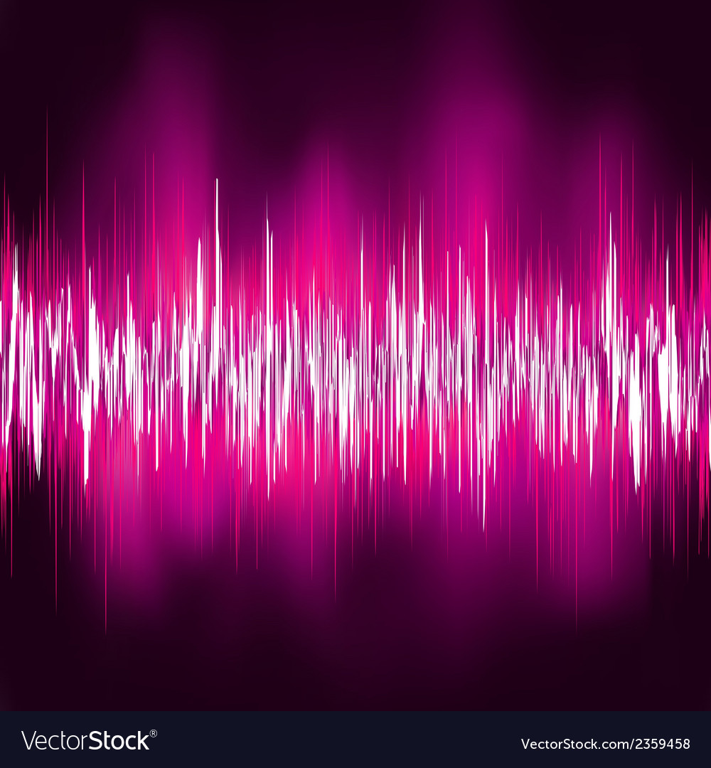 Abstract purple waveform eps 8 vector | Price: 1 Credit (USD $1)