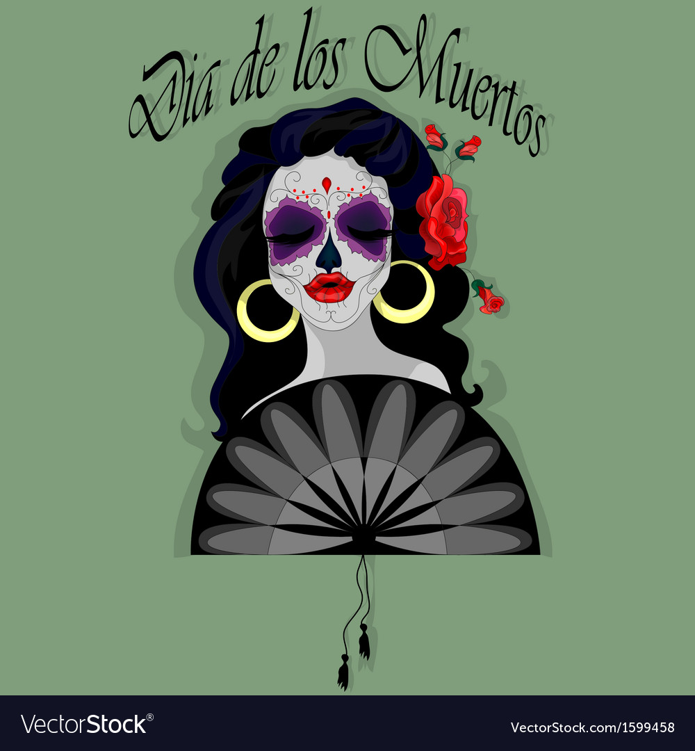 Day of the dead vector | Price: 1 Credit (USD $1)