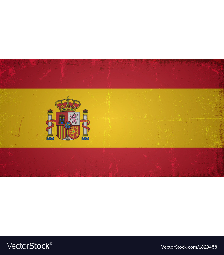 Grunge flags - spain vector | Price: 1 Credit (USD $1)