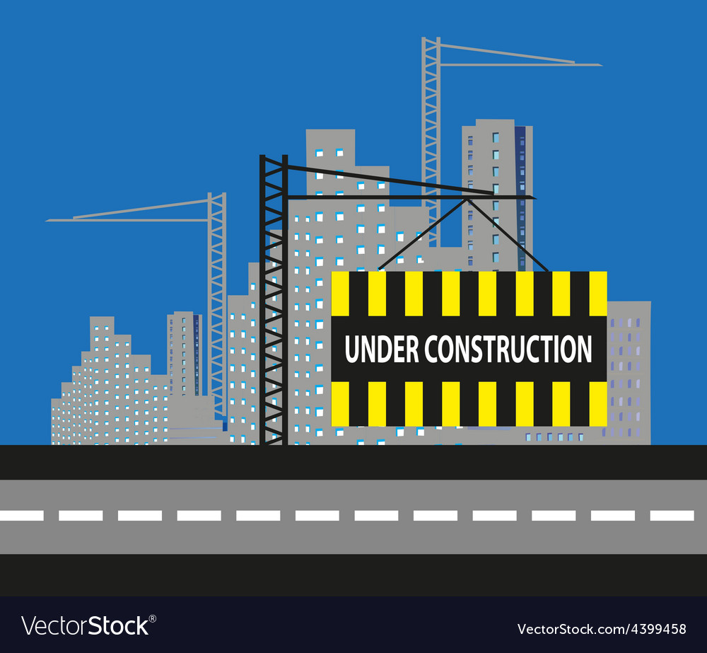 Under construction background vector   Price: 3 Credit (USD $3)