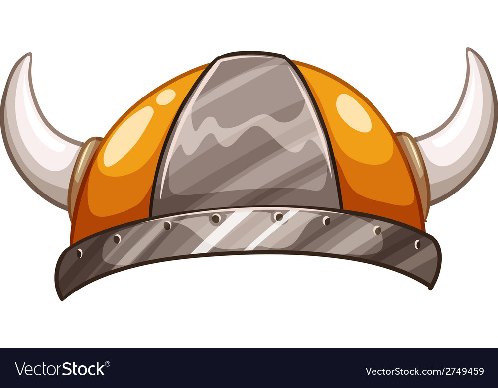 A vikings hat vector | Price: 1 Credit (USD $1)